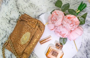 Mulberry Lily Bag, Rosie for Autograph Perfume and Charlotte Tilbury Lipstick