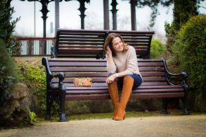 Keeping it casual in knee high zara boots and a cosy knit