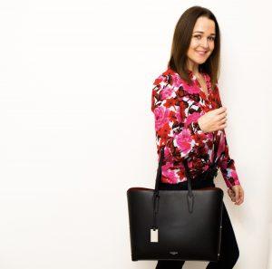 Zara Multicoloured Floral Print Blouse