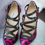 Jimmy Choo Jazz Shoes in Black and Pink