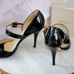 Side and back of the Jimmy Choo Lumiere Shoes