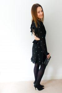 Rebecca Denise wearing ASOS Dress