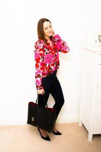 Zara Shirt and Camelia Roma Bag