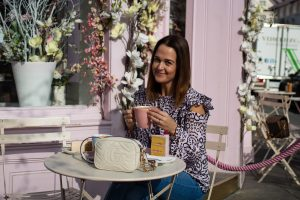 Coffee and Cake at Peggy Porschen