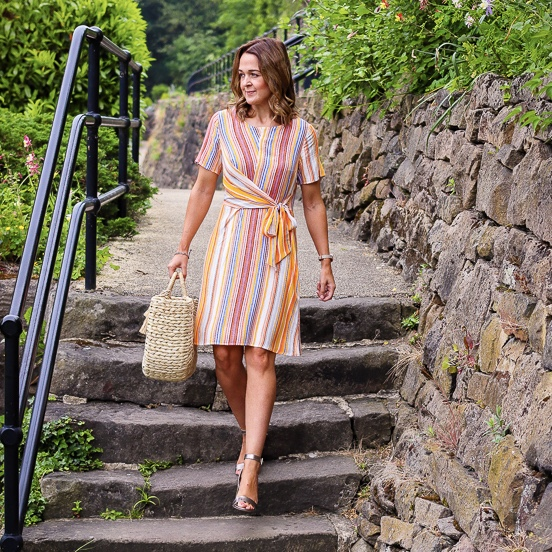 Rebecca Denise is Tu by Sainsbury's Stripe Dress